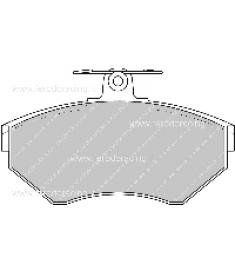 Pastiglie freno FCP1312Z