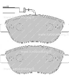 Pastiglie freno FCP1467Z