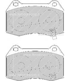 Pastiglie freno FCP1561Z