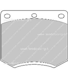 Pastiglie freno FCP167C