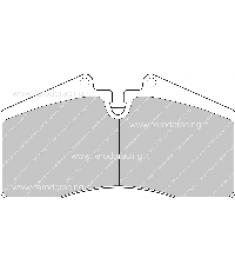 Pastiglie freno FCP560M