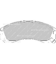 Pastiglie freno FCP765E