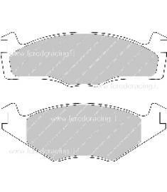 Pastiglia Freno FDS1072P