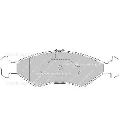 Pastiglia Freno FDS1081P