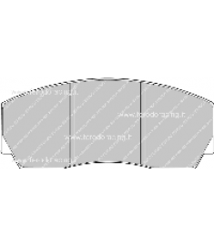 Pastiglie freno FRP216C
